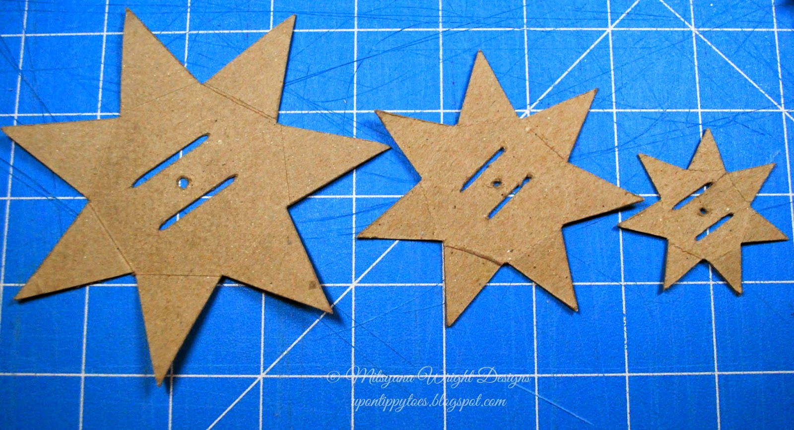 Up On Tippy Toes: 7 Point Star Bow Video Tutorial