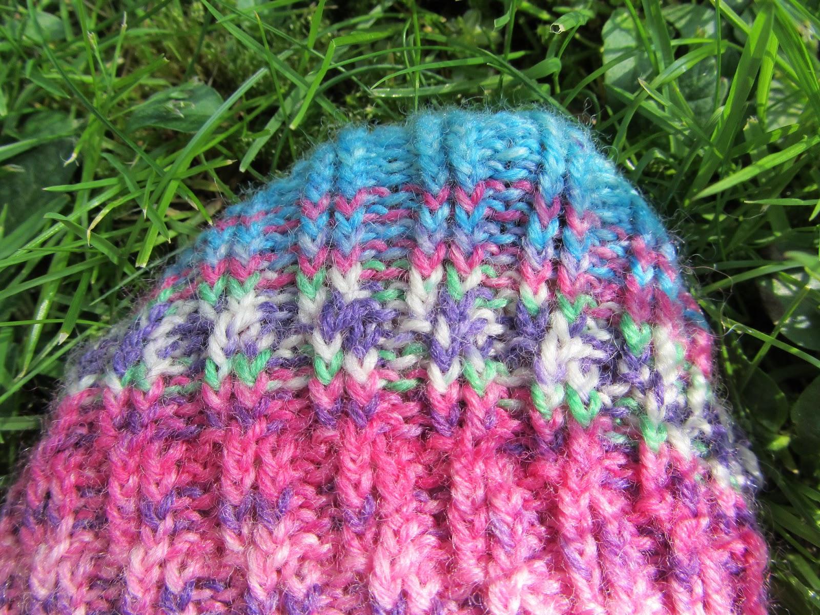 Курс вязания спицами. Общие правила вязания носков 77