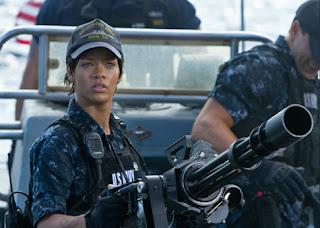 """>Video // Rihanna Sur Le Tournage De """"Battleship"""""""