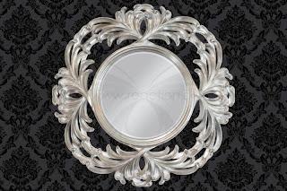 Dizajnove zrkadlo gulate, okruhle zrkadlo velke, zrkadla do bytu, interier zrkadla, zrkadlo do kupelne