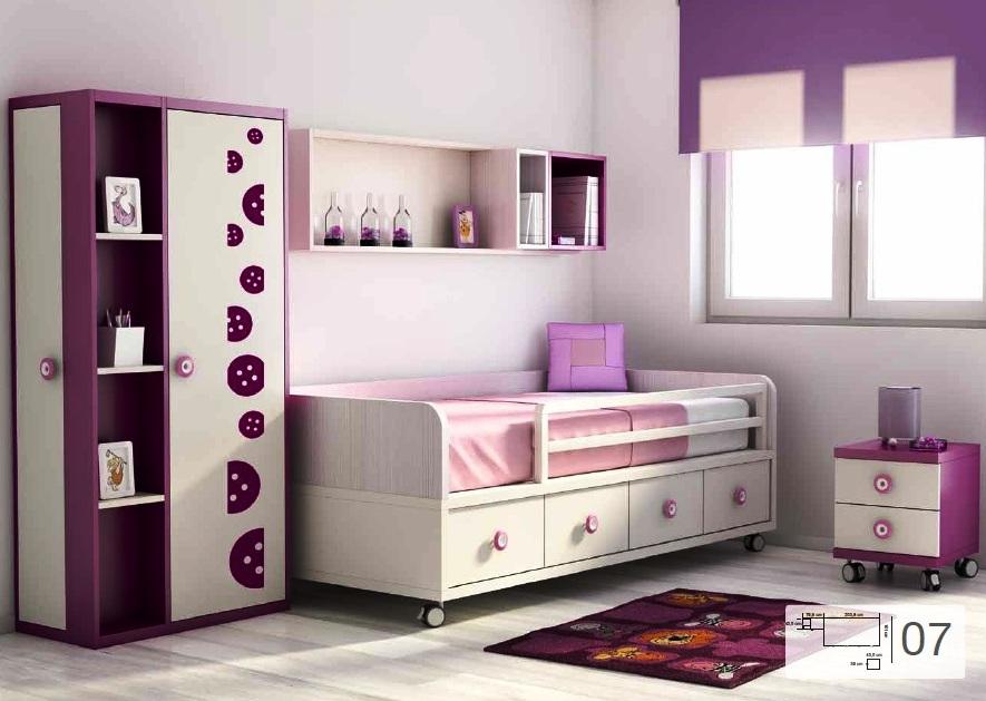 Tienda dormitorios juveniles decoraci n integral para tu - Ruedas para camas nido ...