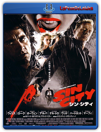 Sin City (2005) BRrip 720p Latino-Ingles
