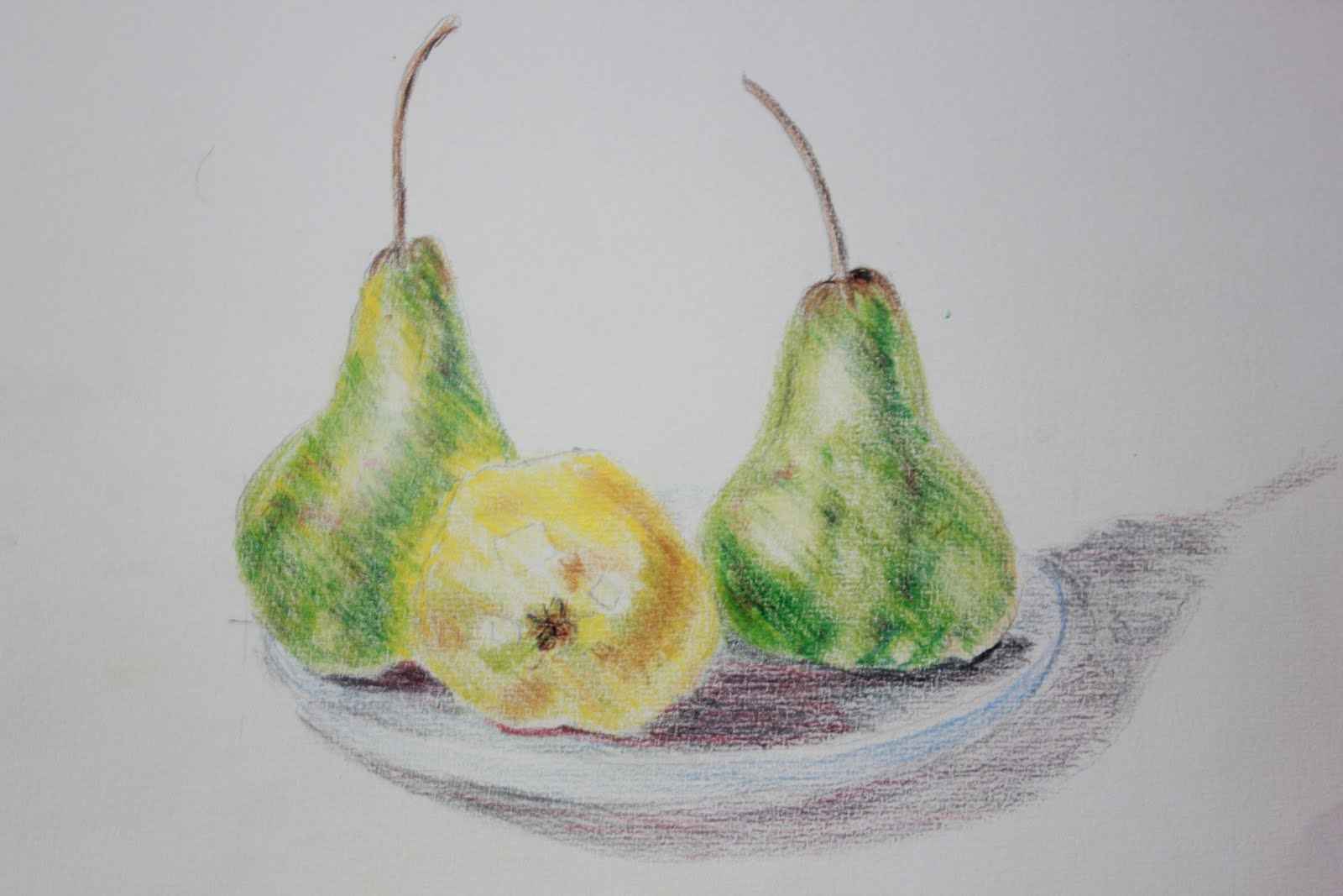 Sue F - Drawing Learning Log: Drawing fruit and vegetables