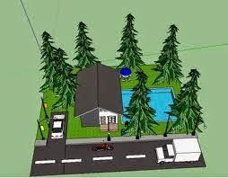 Tutorial Membangun Rumah Sederhana Menggunakan Sketchup