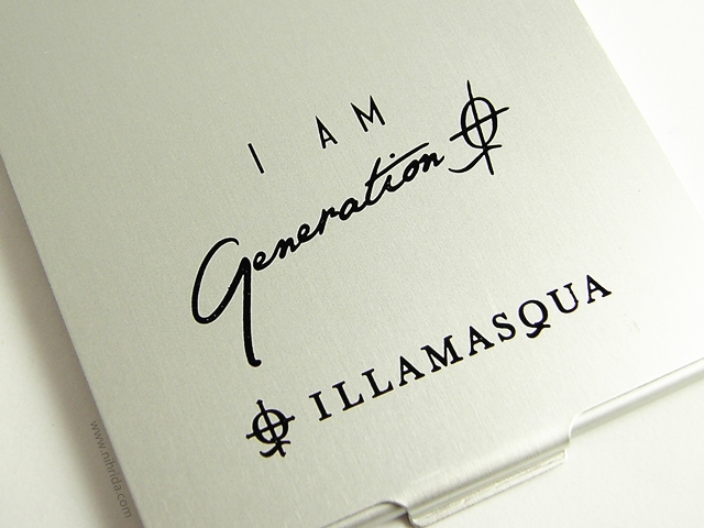 Illamasqua Generation Q Collection Pocket Mirror