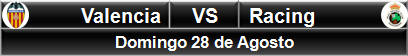 Valencia vs Racing