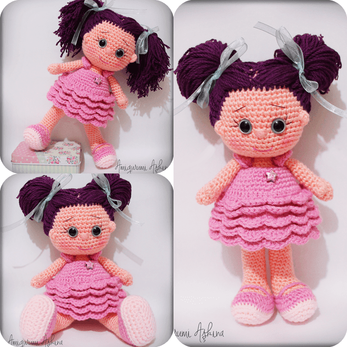 Amigurumi Y?ld?z Bebek- Amigurumi Star Doll - Knitting ...
