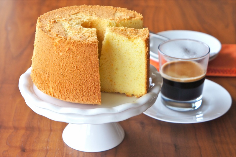 Easy Orange Cake Food Processor