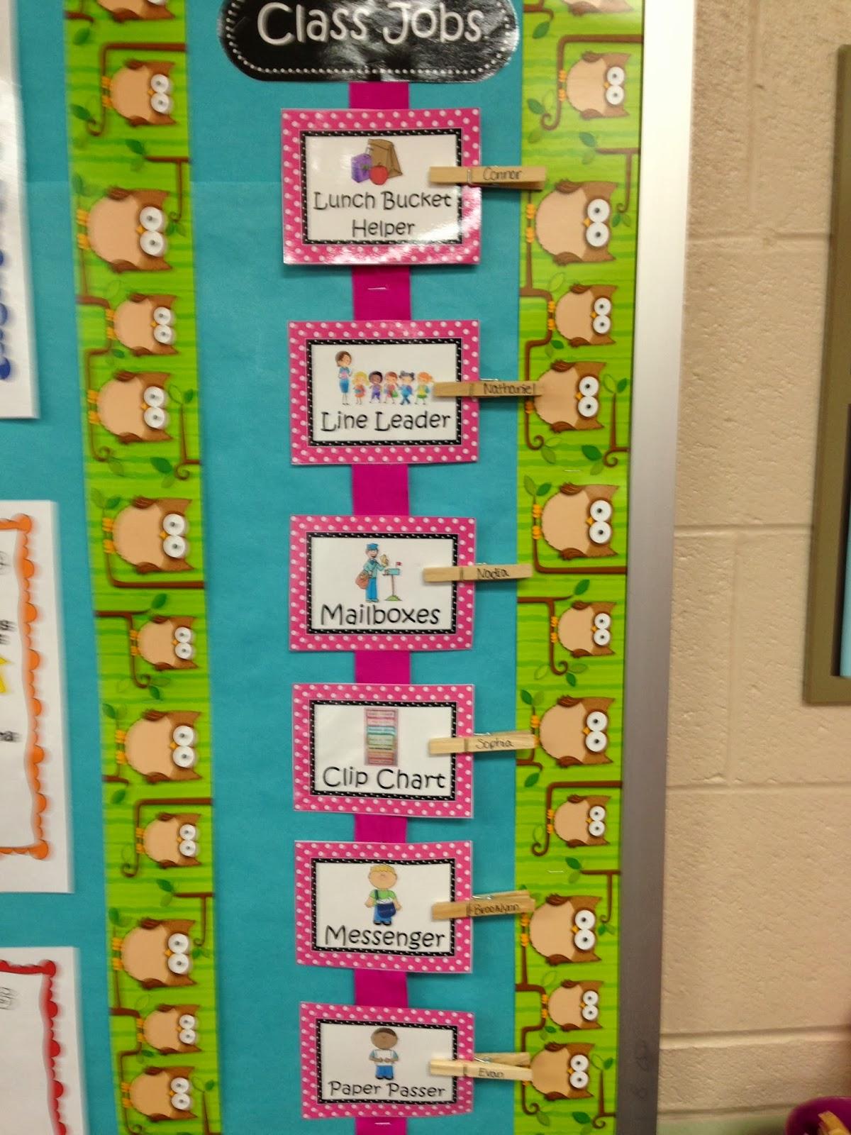 Modular Classroom Jobs ~ Trendy tales of a teacher my classroom
