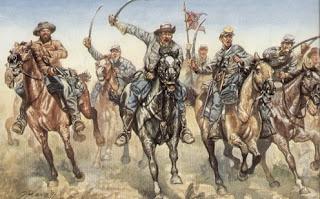 Color Uniform Database Confederate-Cavalry