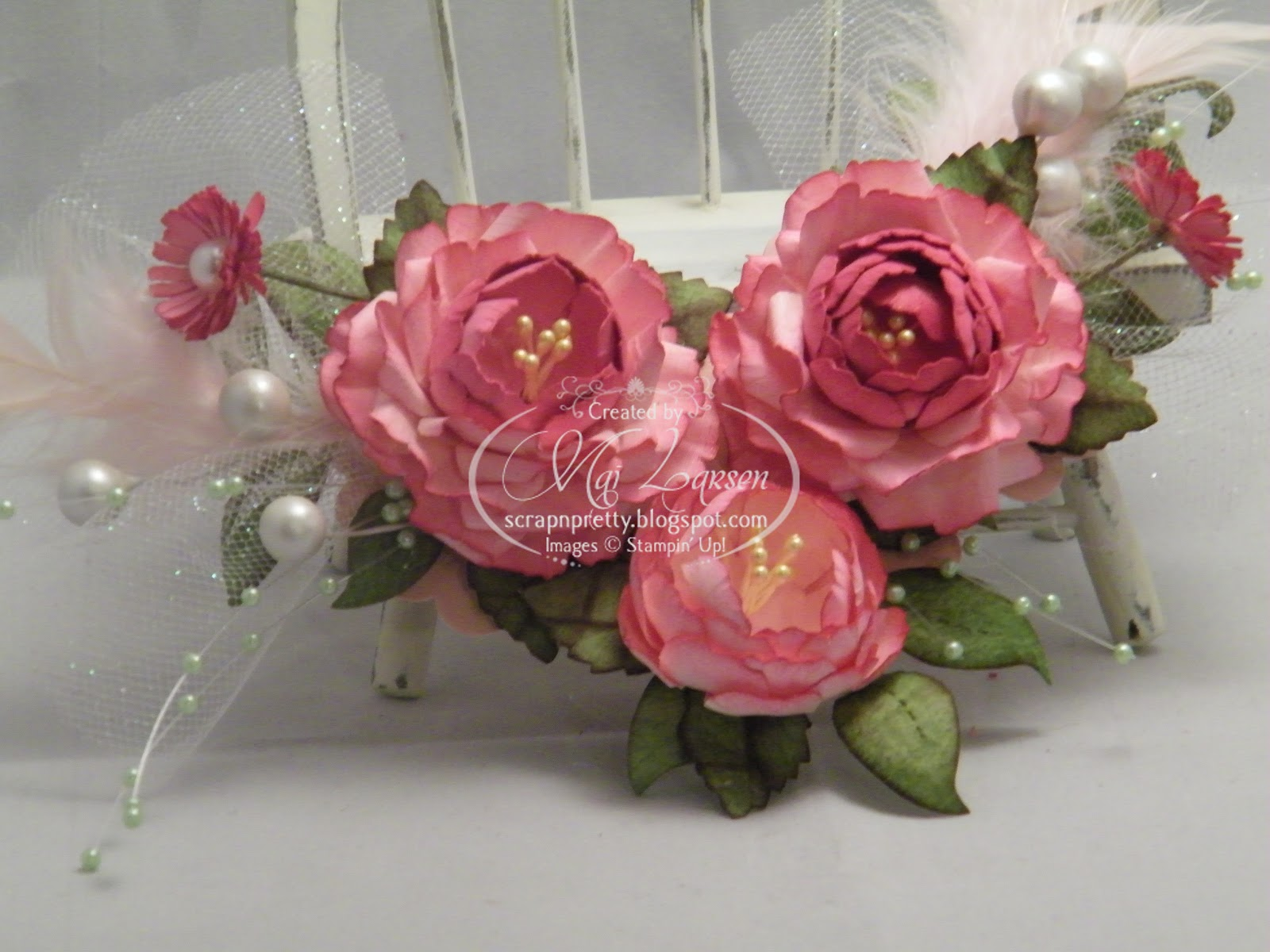 Scrap n pretty papercrafting with mai shabby chic flowers thinking pretty in pink and it just a lovely shabby look im a girly girl and these shabby chic pretty in pink flowers would make a lovely gift for any izmirmasajfo