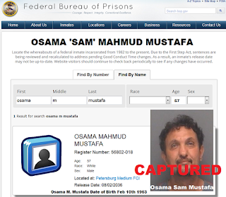 Oct 7 2020 On the Run Tampa Fugitive Osama Sam Mustafa Captured Sent to Petersburg Federal Prison