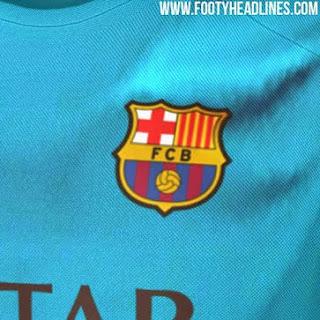 Jual online Berita bocoran jersey Barcelona third terbaru musim 2015/2016