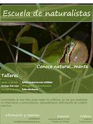 """Programa """"Escuela de Naturalistas""""."""