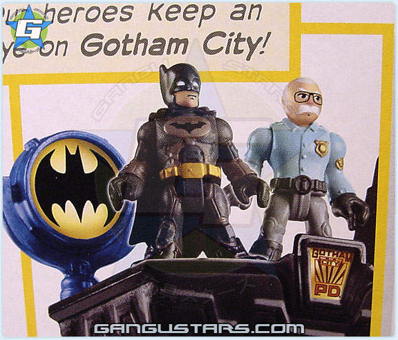 イマジネック Fisher-Price Imaginext DC Toys R Us Gotham City Collection Gotham City Center Batman Gordon