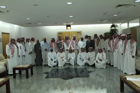 مع طلاب الدمام لشركة الرازي 1433 / 2012