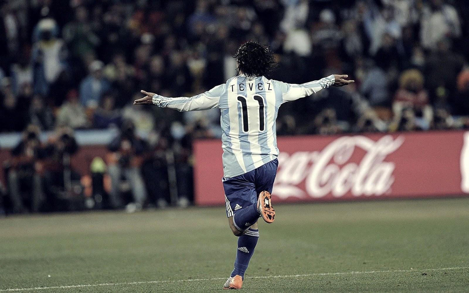 Carlos Tevez Soccer Player