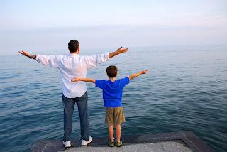 papa me enseña la libertad