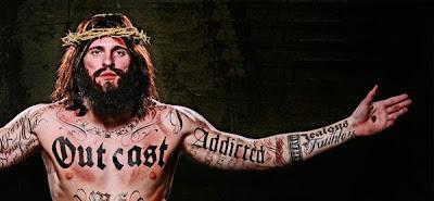 campanha publicitária com Jesus tatuado causa polêmica