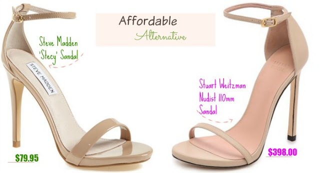 Affordable.Alternative.Steve.Madden.Stuart.Weitzman.Nude.Sandals