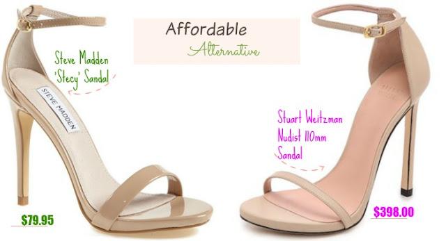 Affordable.Alternative.Steve.Madden.Stuart.Weitzman.Nude.Sandals