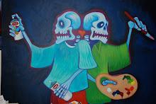 Graff art & the paint brush!