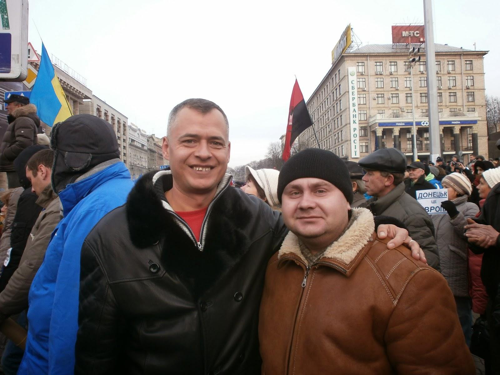 Белогорские общественники вернулись с Евромайдана