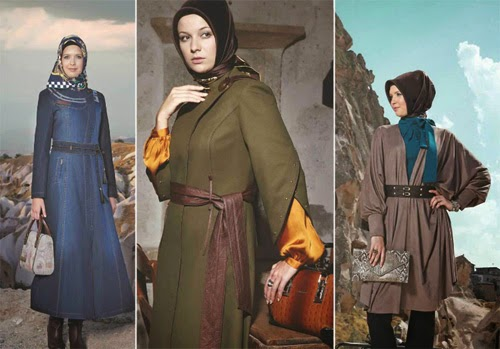 Trend Fashion Busana Muslimah September Terbaru 2015 Arabian-Turkey