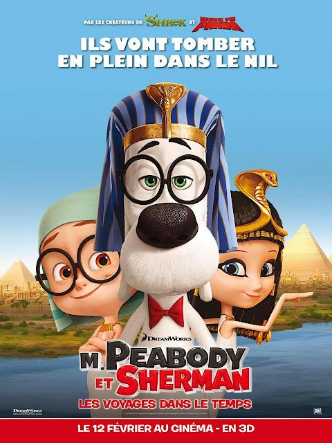 Cuộc Phiêu Lưu Của Mr.Peabody Và Cậu Bé Sherman (thuyết minh) - Mr. Peabody & Sherman