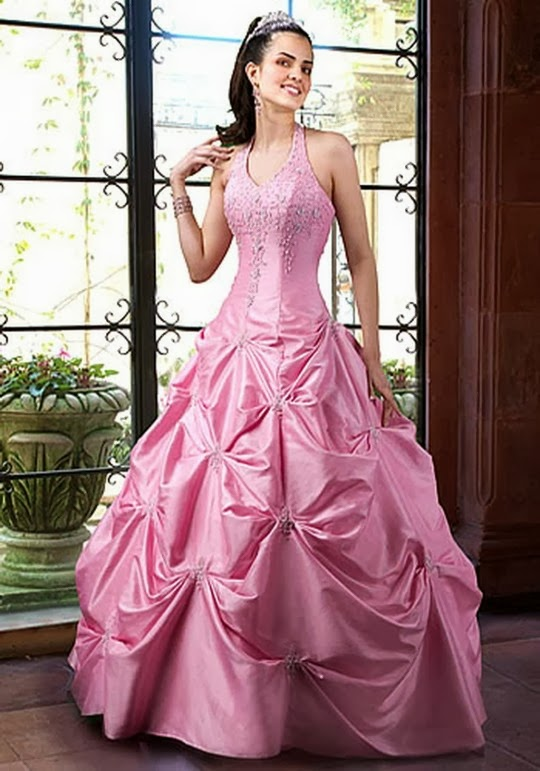 Pink Bridal Dresses Collection