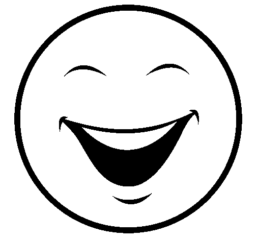 Cara feliz y triste para colorear - Imagui