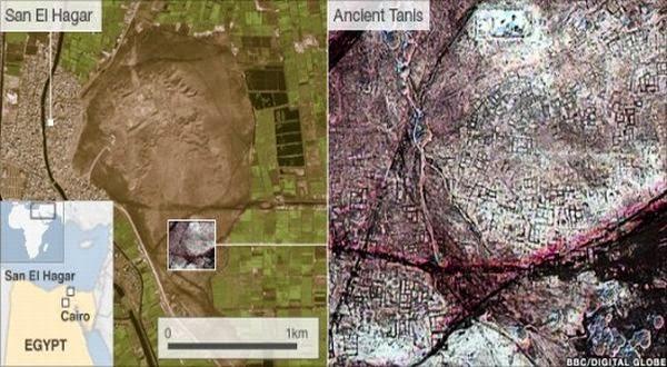 Penemuan, 17, Piramida, Mesir, Dengan, Satelit