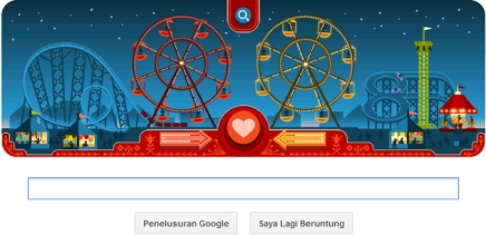 Google Doodle Rayakan Valentine Day