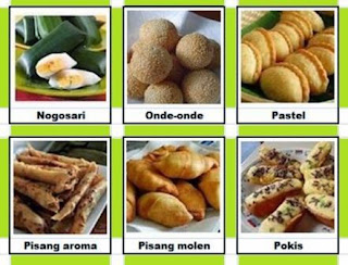 Snacks are typical Indonesian market