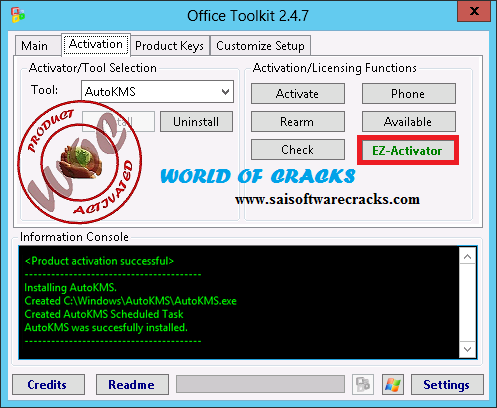Microsoft toolkit 2 4 8 official kms solution for - Office 2013 toolkit and ez activator ...
