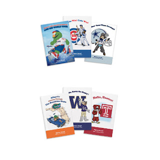 Mascot Books for Colleges and Professional Sports Teams
