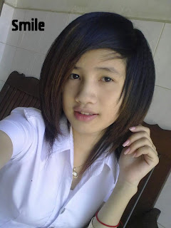 Youko Saki Lin Facebook Cute Girl Student Uniform Photo 8