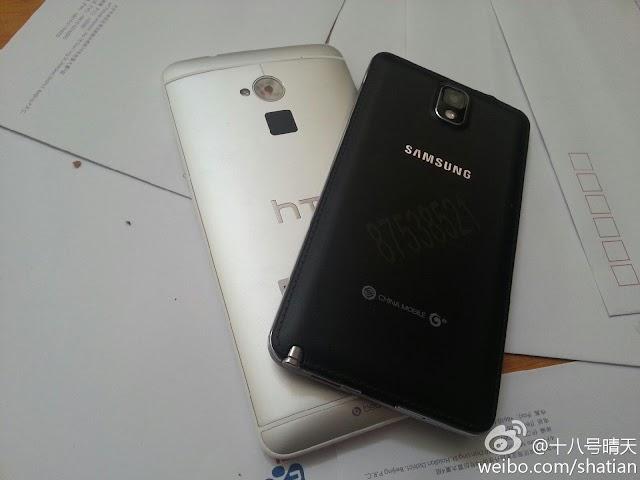 HTC One Max aka HTC 8088 Compared to Samsung Galaxy Note 3