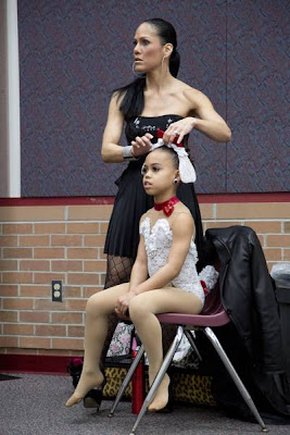 Kristie and daughter Asia on Dance Moms