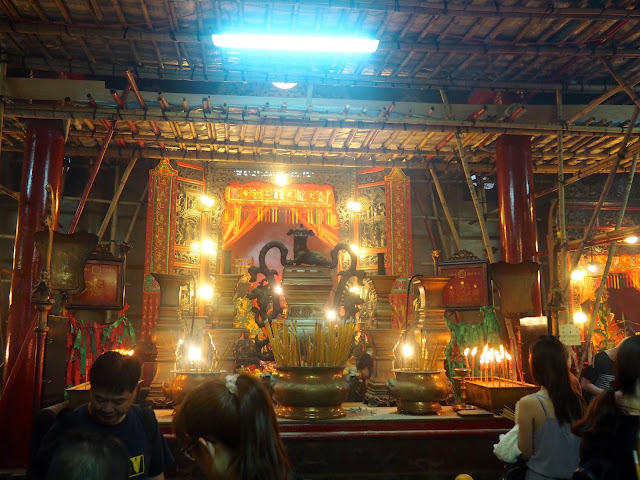 Interior of Man Mo Temple, Sheung Wan, Hong Kong