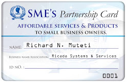 SME&#39;s Partnership Card