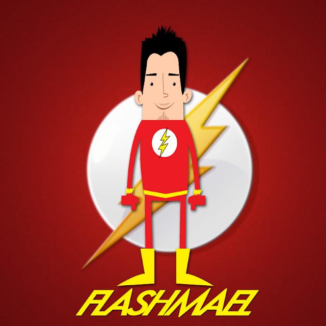 Nerdmigos Flashmael Mr Pinkeyes Fan Art