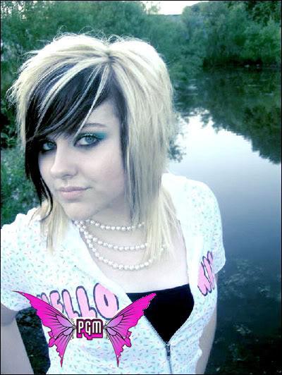 Emo Hair Color Ideas For Girls Emo Short Hair