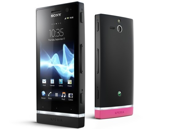 difference between sony xperia p and u