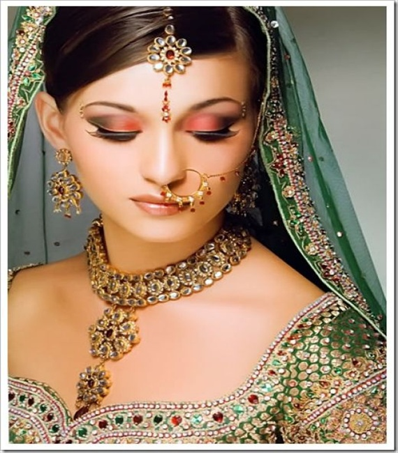 collection of bridal jewellery