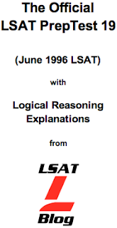 LSAT Blog PrepTest 19 June 1996 LSAT PDF