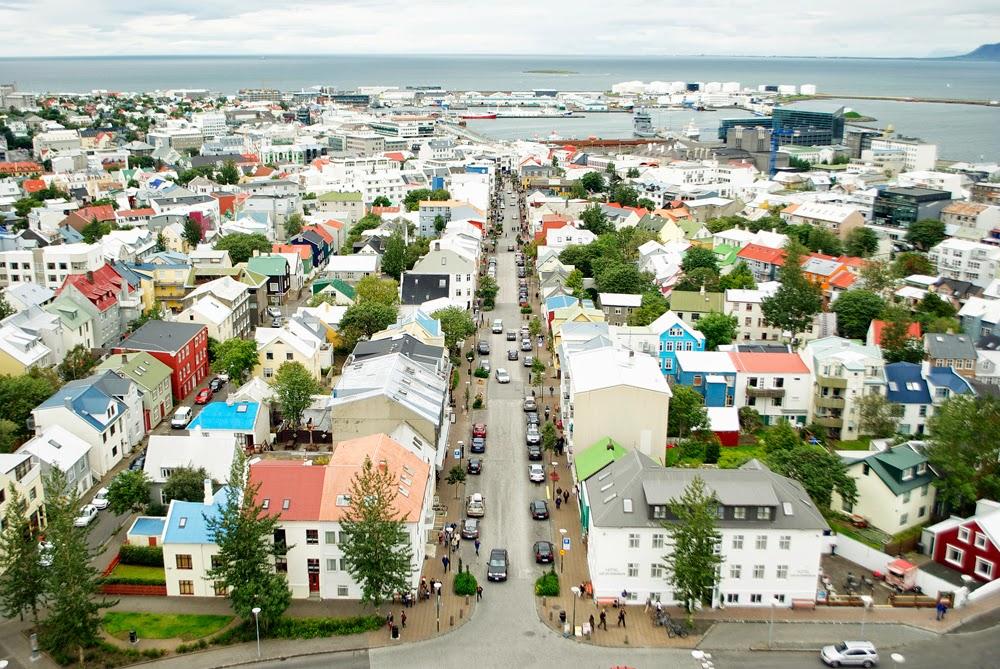 reykjavik from above