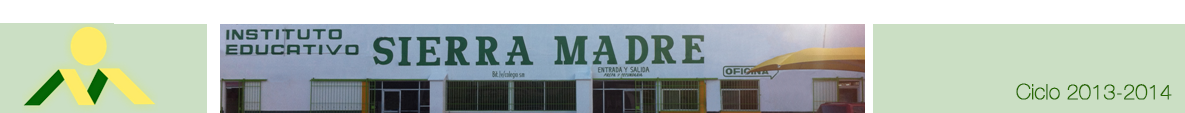 Página Oficial del Instituto Educativo Sierra Madre