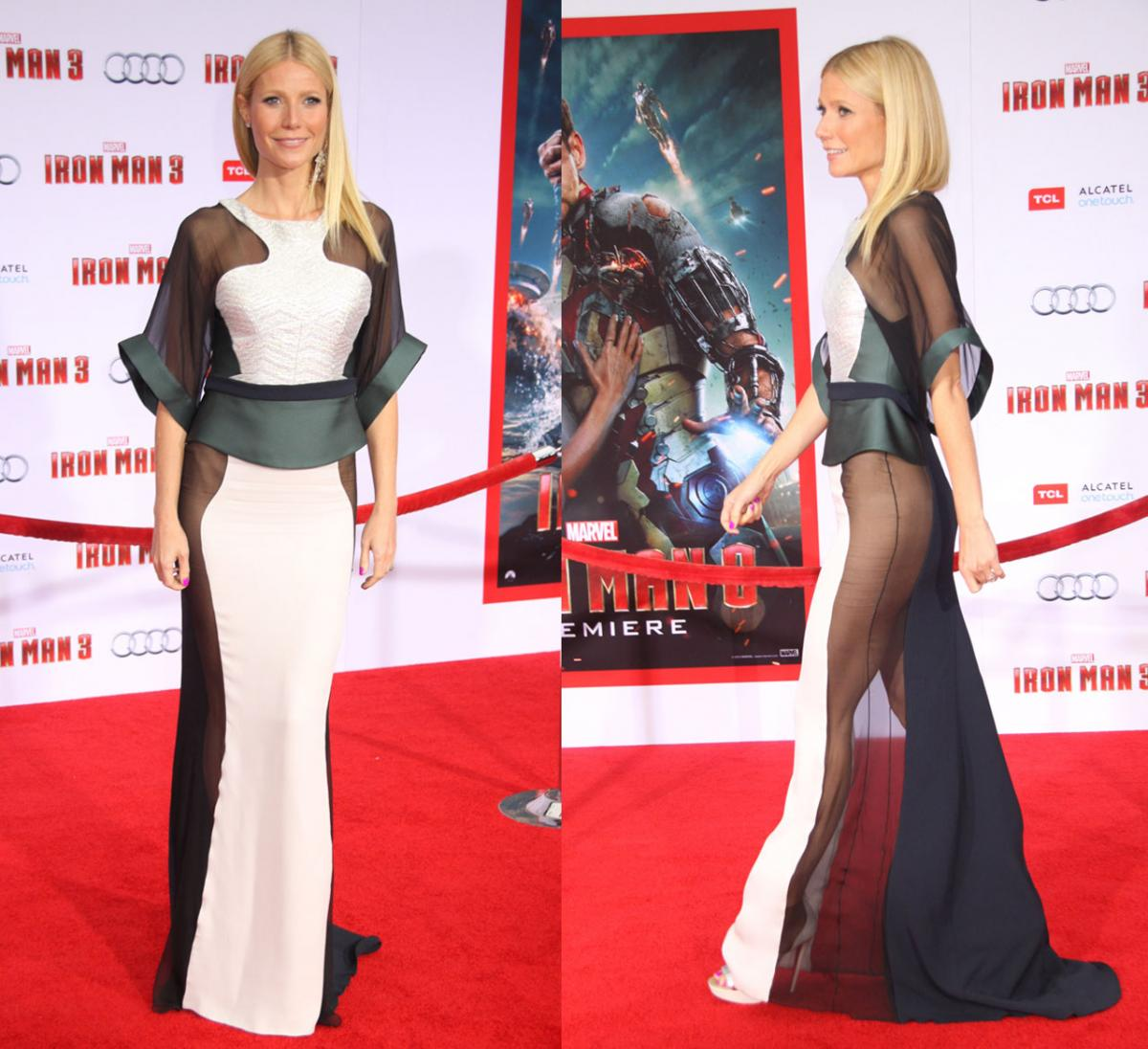 Do you know how to choose an evening gown  Gwyneth Paltrow Dress Bush