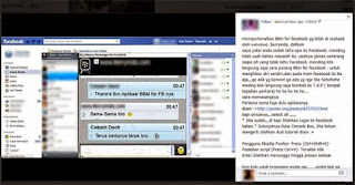 Tips BBM via Facebook